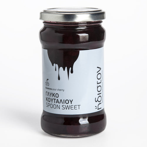 Sour Cherry Spoon Sweet from the Arcadia Highlands, Peloponnese (13.4 oz)