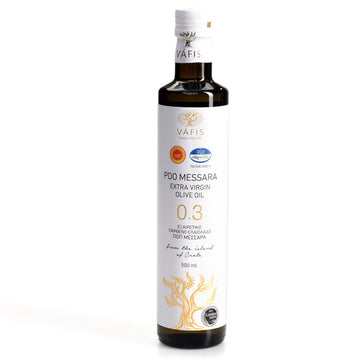 Vafis Extra Virgin Olive Oil - Messara Valley (PDO), Crete (500 ml)