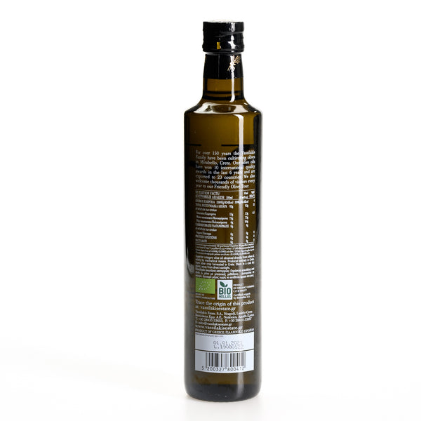 Vee Organic Extra Virgin Olive Oil - Mirabello, Crete (PDO), 500ML