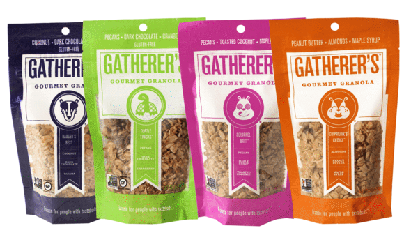 Assorted Granola Snack Pack