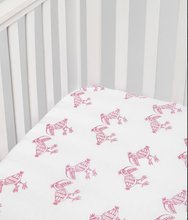 Load image into Gallery viewer, Toucan Fitted Muslin Crib Sheet