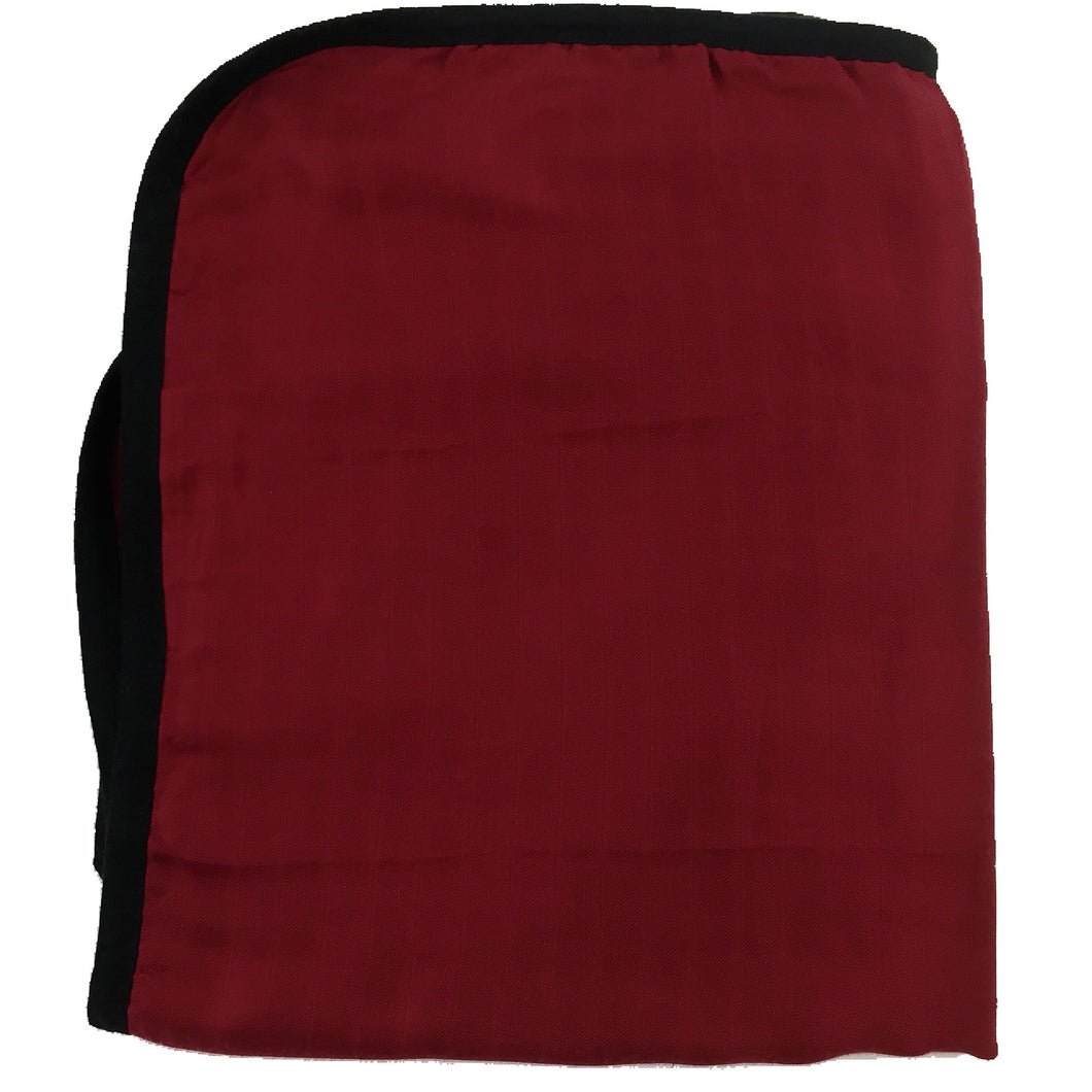 RED with Black Trim Big Double Layer Blankets, kids & adults 60