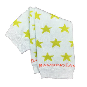 Green Stars Newborn Leg Warmers
