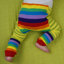 Load image into Gallery viewer, Green Rainbows Baby Leggings (available in 3 sizes)