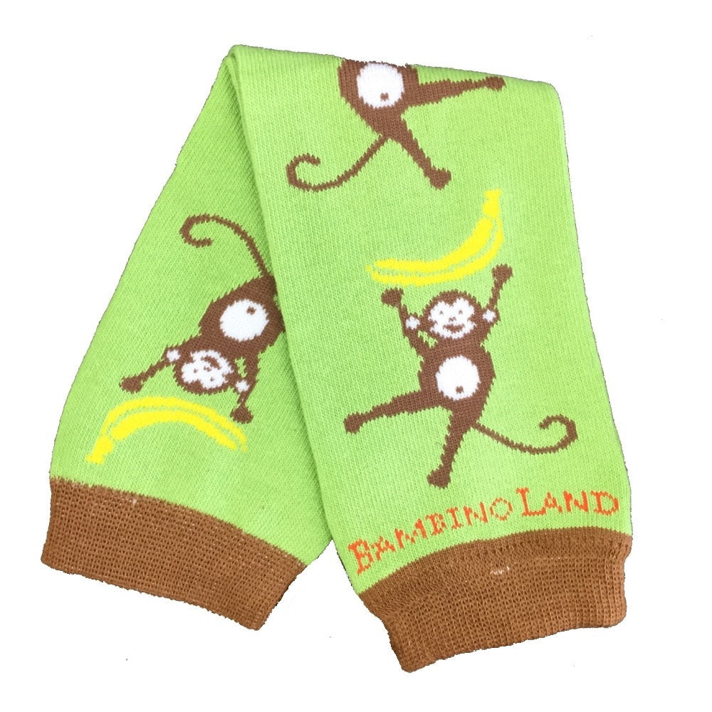 Green Monkeys Baby Leg Warmers