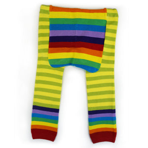 Green Rainbows Baby Leggings (available in 3 sizes)