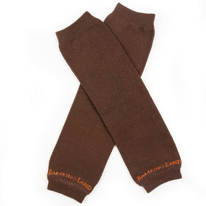 Brown Baby Leg Warmers
