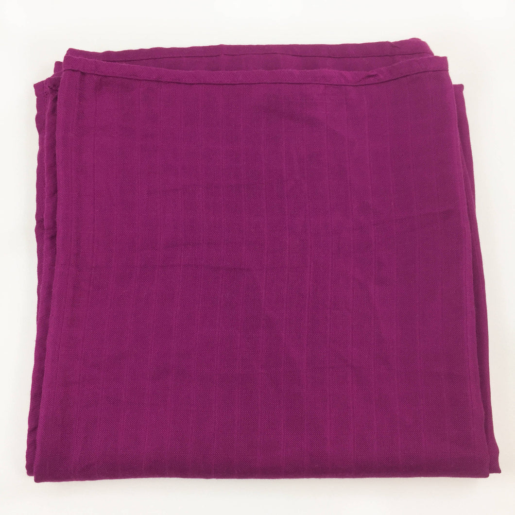 Burgundy Single Layer Swaddle 50