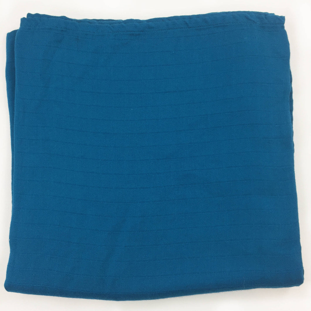 Dark Teal Single Layer Swaddle 50