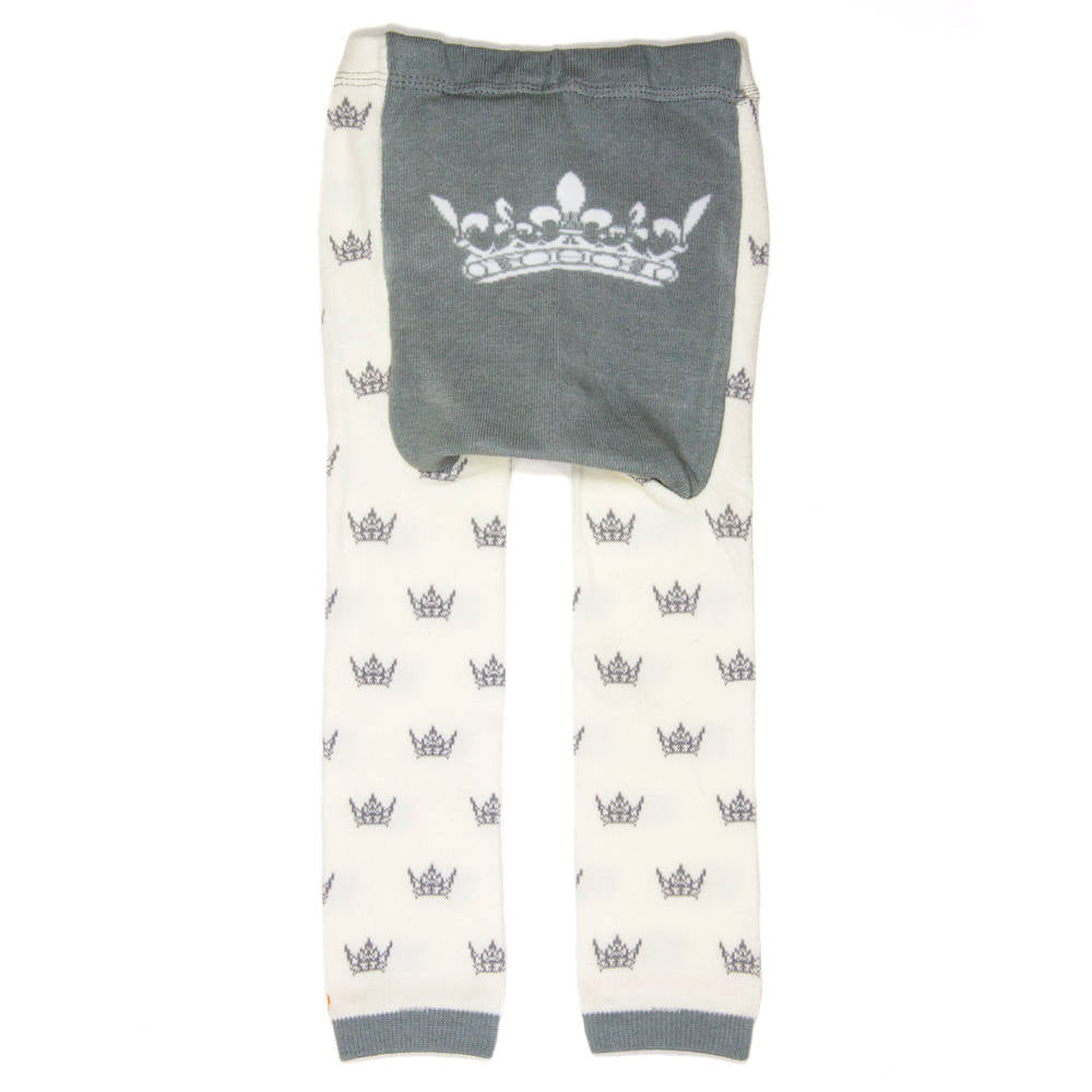 Gray Crowns Baby Leggings (available in 3 sizes)