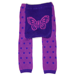 Purple Butterflies Baby Leggings (available in 3 sizes)