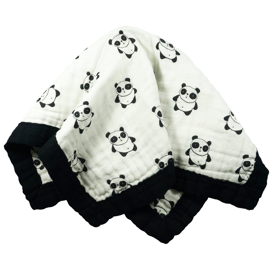 Panda - Medium 3-layer Snuggle Blanket (23