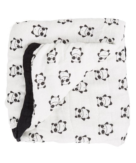 Pandas - Small 3-layer Snuggle Blanket (15