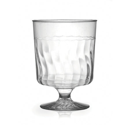 1 Piece 5.5 oz. Wine Glass Clear