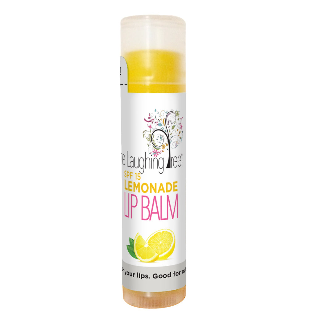 Organic Lemonade Lip Balm with SPF-15