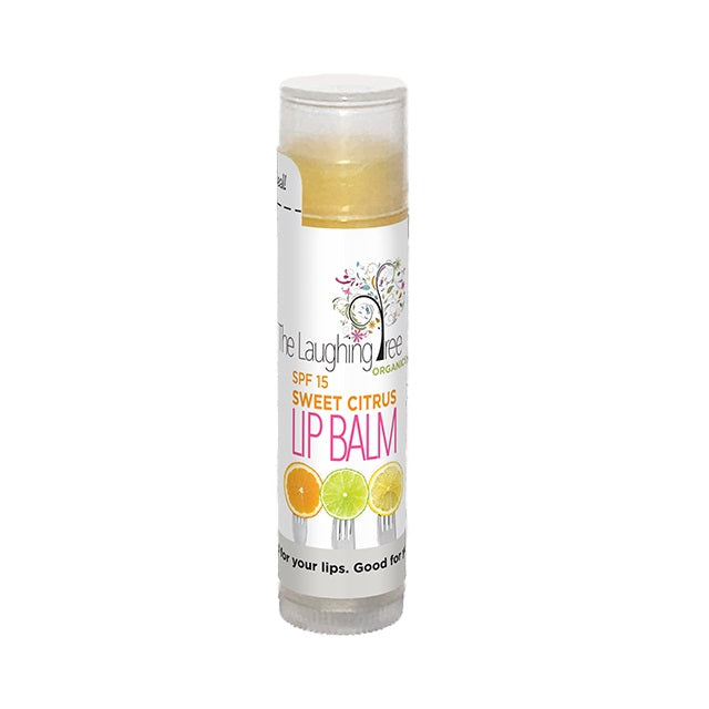 Organic Citrus Lip Balm with SPF-15