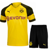 Original Dortmund Premium Home Jersey and Shorts [Optional] 2018-19