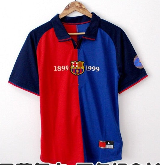 Retro Original Barcelona 100 years Jersey 1899-1999 [Superior Quality]