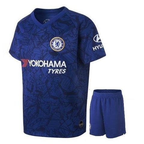 Kids/Youth Original Chelsea Premium Home Jersey & Shorts 2019/20