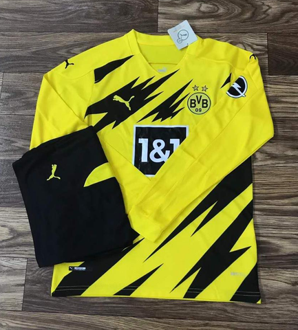 BVB Dortmund Home Full Sleeve Jersey 2020/21 [Superior Quality]