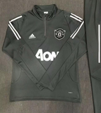Original Manchester United Training Grey Track Upper 2019/20