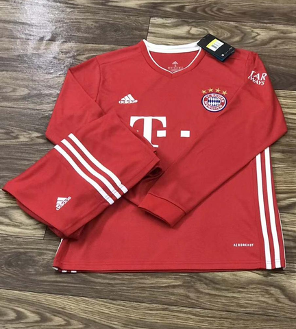 Bayern Munich Home Full Sleeve Jersey 2020/21 [Superior Quality]