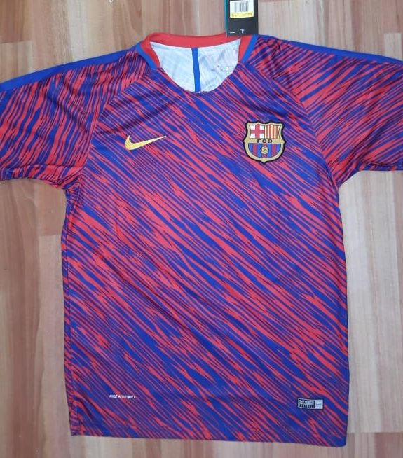 Original Barcelona Rare Training Jersey [Superior Quality]