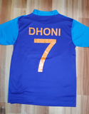 MS Dhoni India National Cricket Fan Jersey World Cup 2019