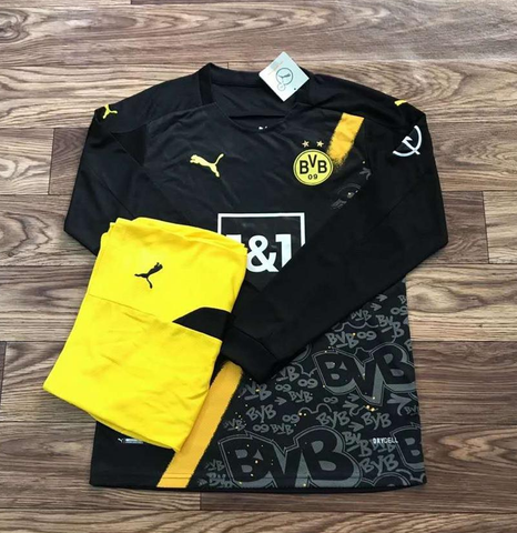 BVB Dortmund Away Full Sleeve Jersey 2020/21 [Superior Quality]