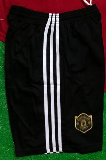 Original Manchester United Premium Home Black Shorts 2019/20