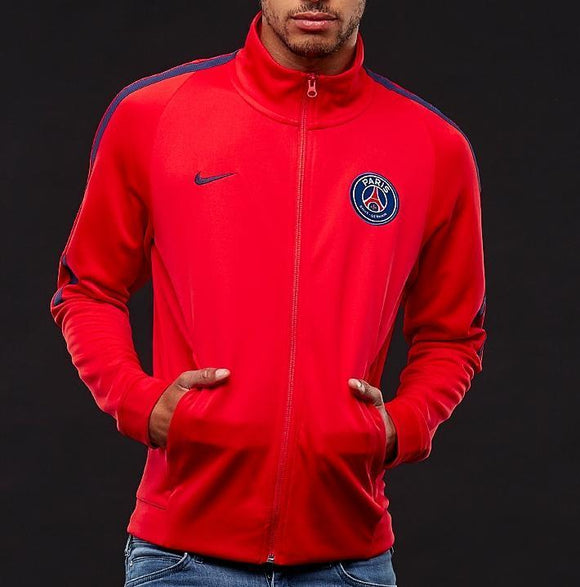 Original PSG Premium Anthem Red Zipper
