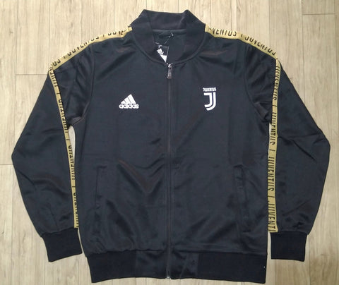 Original Juventus Anthem Zipper Black & Golden 2019/20