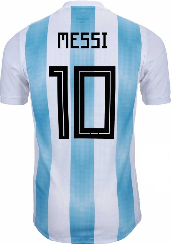 Original Messi Argentina Home Jersey 2018 [Superior Quality]