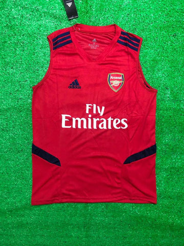 Arsenal Sleeveless Pre-Match Jersey Red 2020/21 [Superior Quality]