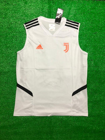 Juventus Sleeveless Pre-Match Jersey White 2020/21 [Superior Quality]