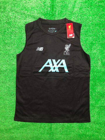 Liverpool Sleeveless Pre-Match Jersey Black 2020/21 [Superior Quality]