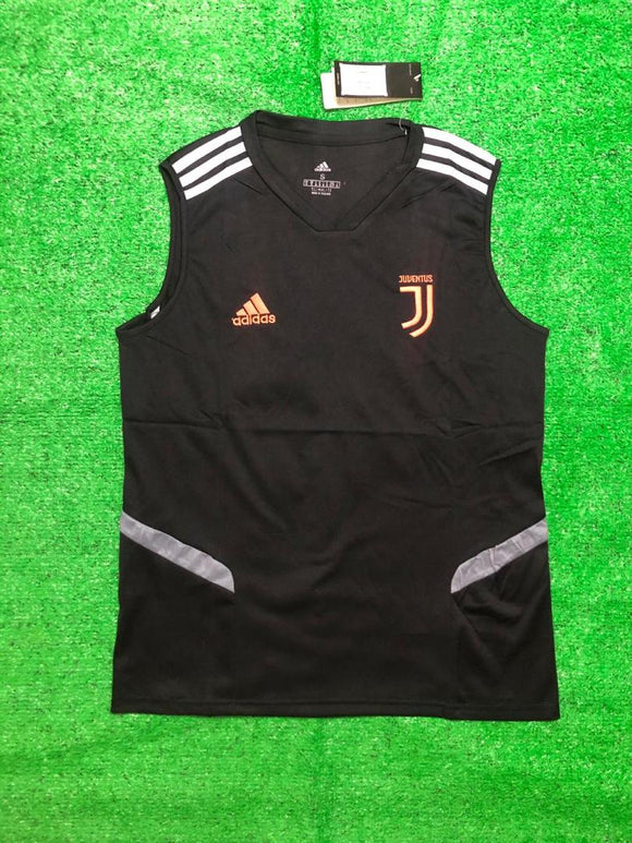 Juventus Sleeveless Pre-Match Jersey Black 2020/21 [Superior Quality]