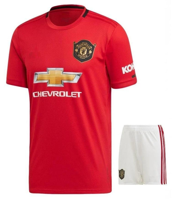 Original Manchester United Premium Home Jersey & Shorts [Optional] 2019/20