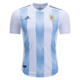 Messi Argentina Home Jersey & Shorts FIFA World Cup 2018