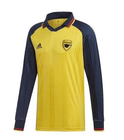 Original ARSENAL Retro Full Sleeve Away Jersey [Superior Quality]