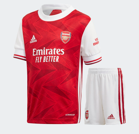 Kids/Youth Arsenal Home Premium Home Jersey & Shorts 2020/21
