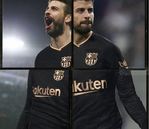 Barca Away Full Sleeve Jersey 2020/21 [Superior Quality]