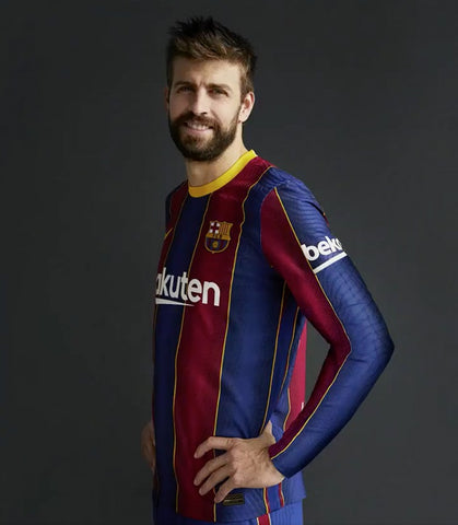 Barca Home Full Sleeve Jersey 2020/21 [Superior Quality]