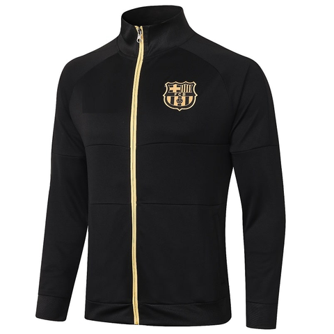 Barcelona Away Black Jacket 2020/21