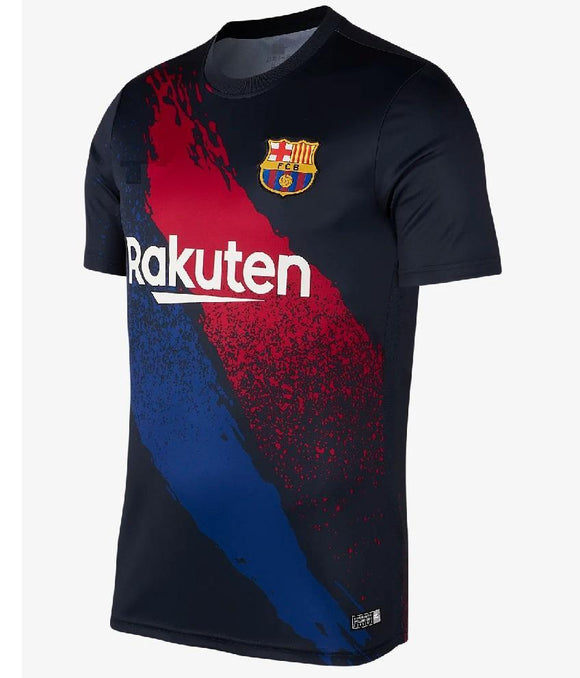 Original Barcelona Black Training Jersey 2019/20 [Superior Quality]