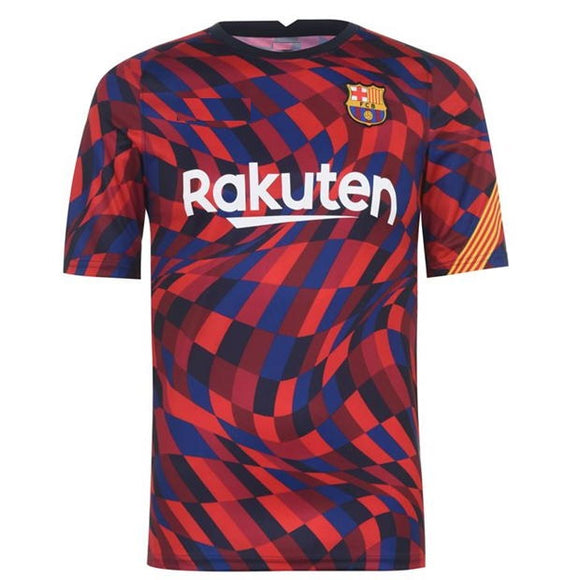 Barcelona Pre-Match Jersey 2020/21 [Superior Quality]