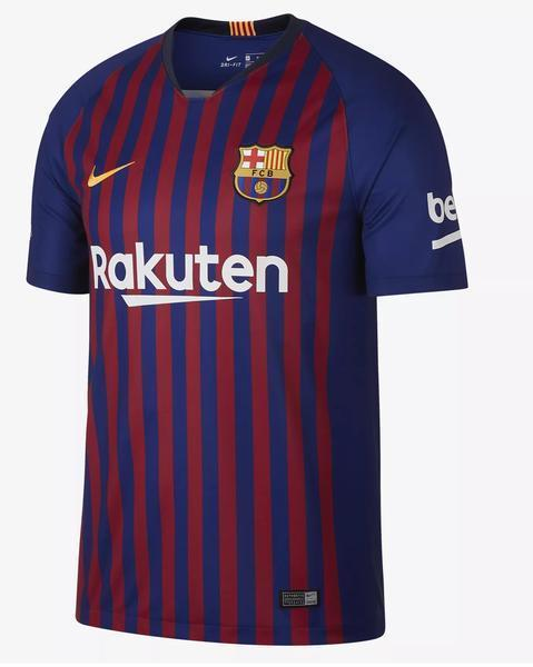 Original Barcelona Home Jersey 2018-19 [Superior Quality]