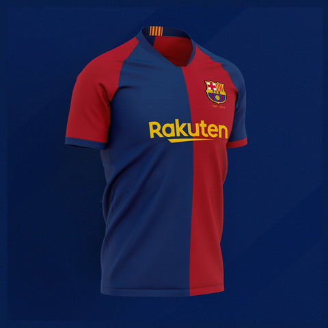 Rare Barcelona 120 Years Edition Jersey [Superior Quality]