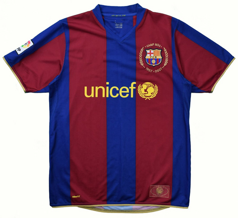 Barca 50th Anniversary Retro Jersey 1957/07 [Superior Quality]
