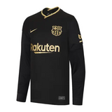 Barca Away Full Sleeve Jersey 2020/21 [Premium Quality]